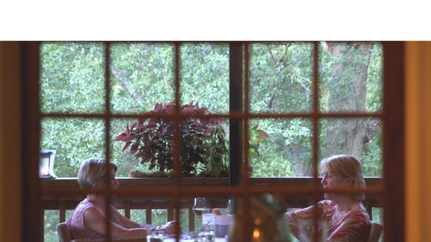 Dining on Babette's Back Porch